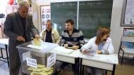 Wahlen in der Türkei haben begonnen