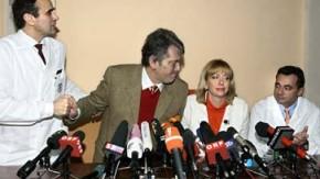 Juschtschenko dankt Wiener Ärzten