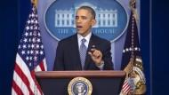 Obama bittet vergeblich um Besonnenheit