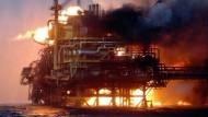 Vier Tote bei Brand auf Ölplattform