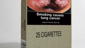 Nur noch einheitliche Zigarettenschachteln
