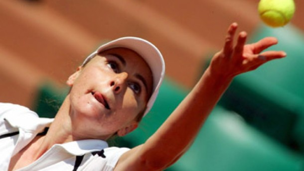Marlene Weingärtner rettet die deutsche Tennisehre