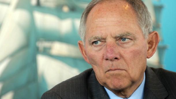 Schäuble gegen Aufnahme von Häftlingen
