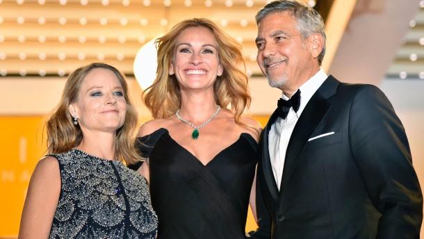 George Clooney stellt Film in Cannes vor
