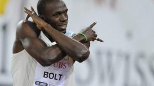 Usain Bolt stoppt Rekordjagd - und siegt