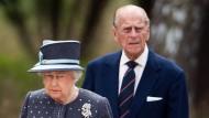 Royales Fluchen: Prinz Philip rastet aus
