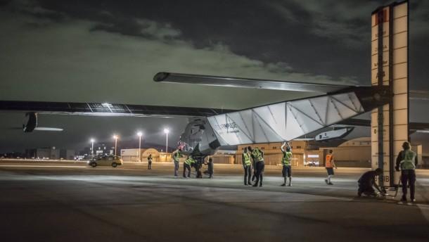 """""""Solar Impulse 2"""" startet Pazifik-Etappe"""