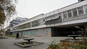 Karstadt schließt sechs Kaufhäuser