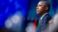 Obama dringt auf Klimaschutzabkommen