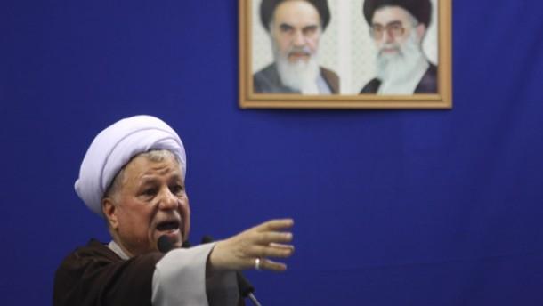 Rafsandschani fordert Gehorsam gegenüber Chamenei