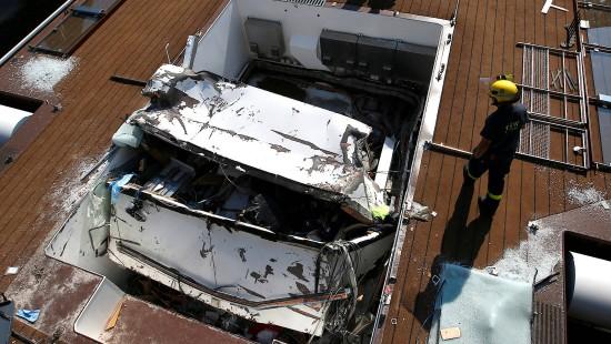 Zwei Tote bei Schiffsunglück in Erlangen