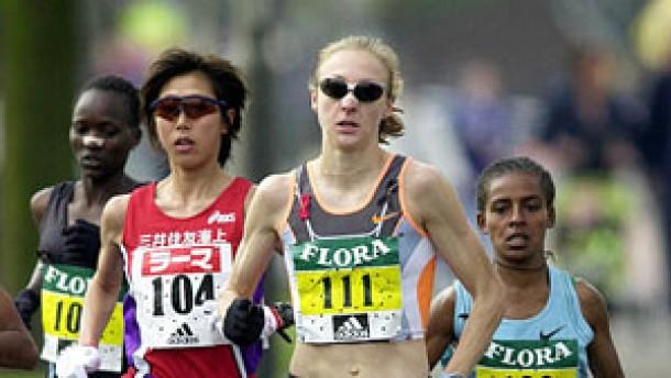 Paula Radcliffe läuft in neue Dimensionen
