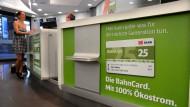 Laut der Bahn tut die BahnCard nicht nur dem eigenen Portemonnaie gut, sondern auch der Umwelt.
