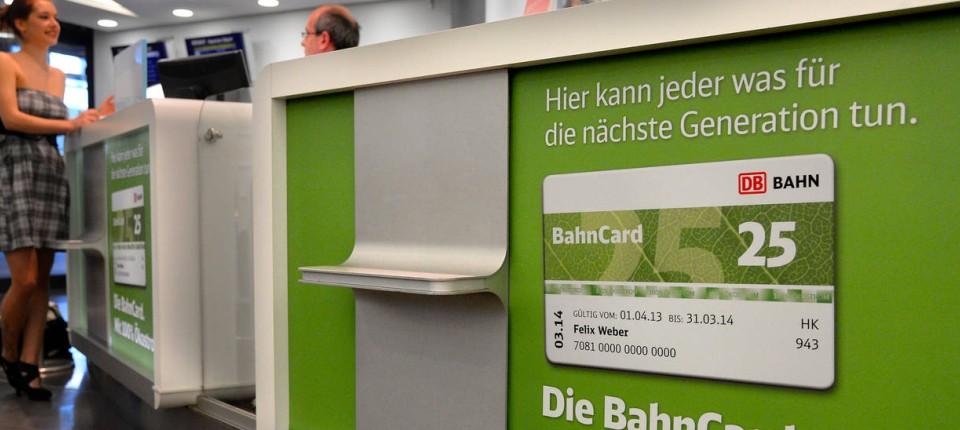 77ee1b0241c8 Laut der Bahn tut die BahnCard nicht nur dem eigenen Portemonnaie gut