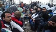 Ausnahmezustand an der Grenze zwischen Griechenland und Mazedonien