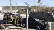 Palästinenser rast in Israelis während Kerry-Besuch