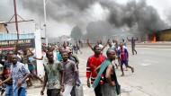 Mehrere Tote bei Ausschreitungen in Kongo