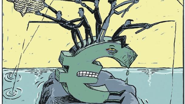Am schwachen Euro verdienen