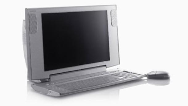 sony vaio pcv w1 allesk nner mit maus tastatur und fernbedienung audio video faz. Black Bedroom Furniture Sets. Home Design Ideas