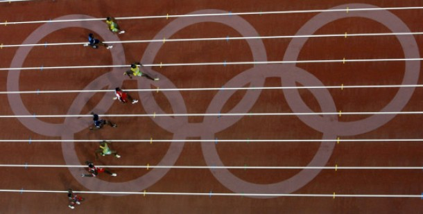 Usain Bolt of Jamaica runs to win the men''s 100m final at the Beijing 2008 Olympic Games