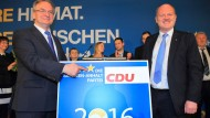 CDU entsetzt über den AfD-Erfolg in Sachsen-Anhalt