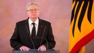 Bundespräsident Gauck trauert