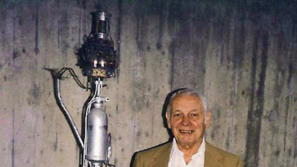 Deutscher Raketenpionier Dannenberg gestorben
