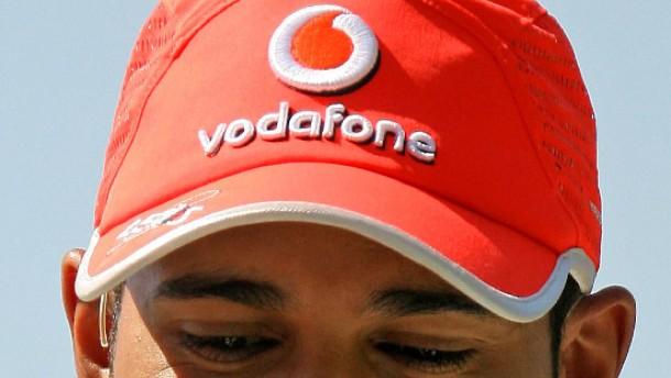 Vodafone Lewis Hamilton