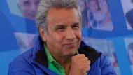 Linker Kandidat in Ecuador vorn