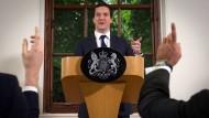 Britischer Finanzminister: Marktschwankungen werden andauern