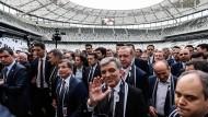 Erdogan weiht neues Besiktas-Stadion ein