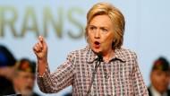Clinton muss sich an die Kandidatur erst gewöhnen
