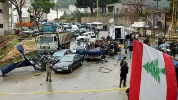 """""""Massaker"""" im Libanon"""