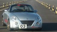 Imageträger: Der rechtsgelenkte Daihatsu Copen