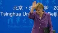 Merkels Herz ist in Brasilien