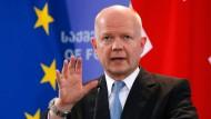 Britischer Außenminister tritt zurück