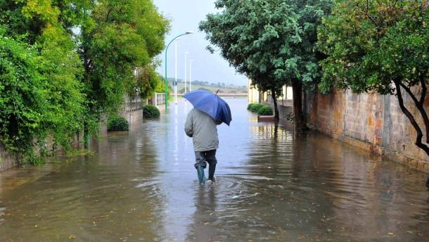 Überschwemmungen auch in Süditalien