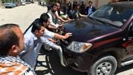 Deutsche Helferin in Kabul entführt