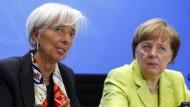 Merkel trifft Vorsitzende der internationalen Wirtschaftsorganisationen
