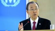 Vereinte Nationen fordern Solidarität mit syrischen Flüchtlingen