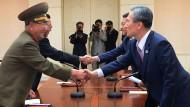 Pjöngjang und Seoul legen Konflikt bei