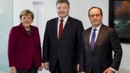 Gipfeltreffen zur Ukrainekrise