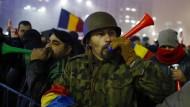 Weiter Massenproteste in Rumänien