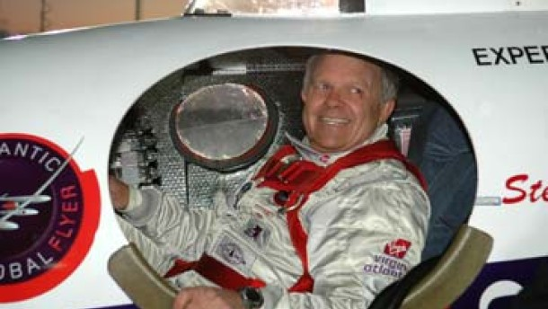 Millionär Fossett startet zu neuem Rekordflug um die Welt