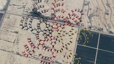 Der Rekord-Flug über der Wüste in Arizona