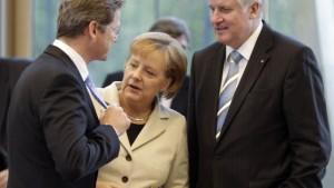 Union und FDP setzen zum Endspurt an