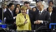 Merkel will Freihandelsabkommen zwischen EU und Japan