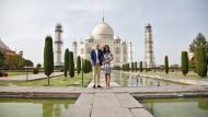 William und Kate besuchen Taj Mahal in Indien