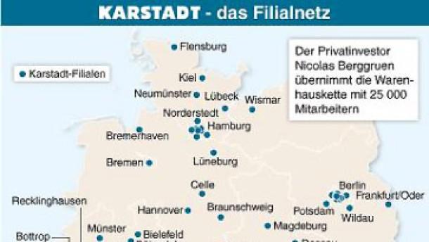 Karstadt-Übernahme bleibt unsicher