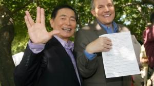 Auch Mr. Sulu will jetzt heiraten